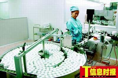 进口药居高不下,厂家将原因归昝于口岸价高,让谈判专家为难。巢晓 摄