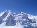 勃朗峰杜塔库攀冰路线图
