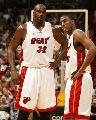 图文:[NBA]76人93-85热火 奥尼尔茫然无奈
