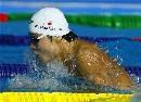 图文:男子100米蛙泳预赛 日本选手实力不俗