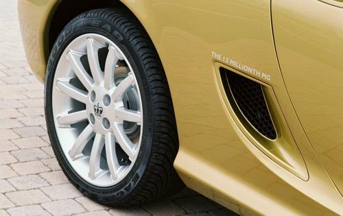 MG 英国女王坐驾 TF轮毂上的王冠标志-八 MG名爵 英系车的完美注解