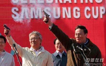 图文:倒计时500天北京国际长跑节 鸣枪出发