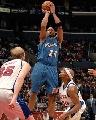图文:[NBA]快船胜奇才 海耶斯跳投
