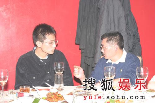 刘烨和何平导演