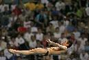 图文:男子十米台决赛 林跃展现完美线条