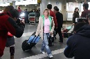图文:[女足]多曼斯基抵达北京 被记者包围