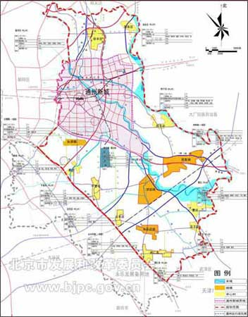 北京通州新城规划获批