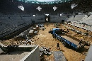 图文:奥林匹克公园网球场 主看台侧视