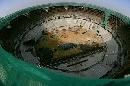 图文:奥林匹克公园网球场 俯视主网球场