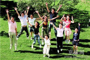 志愿者的微笑已成为北京最好的名片