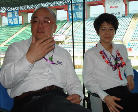 图左:赛事总监陈信中 图右:副总裁林梅香