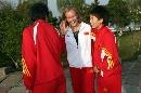 图文:多曼斯基入主中国女足 卡罗琳镜头感十足