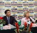 图文:多曼斯基入主中国女足 多曼斯基入主女足