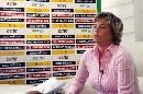 图文:多曼斯基入主中国女足 多曼斯基答记者问
