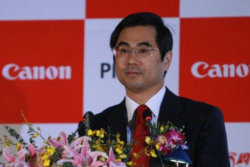 佳能(中国)副总裁木村聪先生致辞