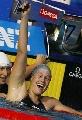 图文:女子200米自半决赛 佩里格里尼万分喜悦