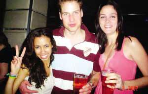 威廉王子被曝摸巴西女生胸部