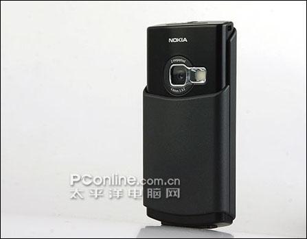 诺基亚手机N70全黑版背面