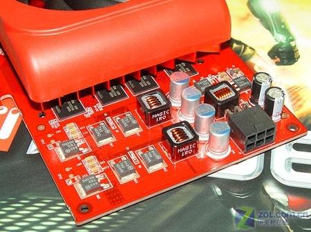 X1950GT采用了固态电容