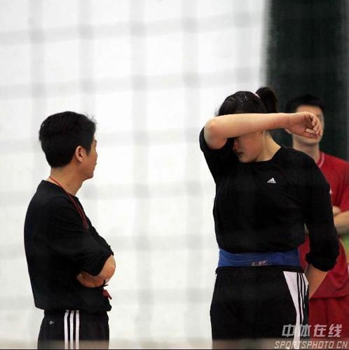 陈忠和训练发火 奥运临近时间紧迫严格要求队员