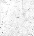 绰莫拉日峰等高线图