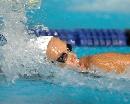 图文:法国选手马诺多女子200米自由泳折桂