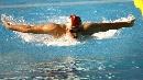 图文:中国选手吴鹏获男子200米蝶泳亚军
