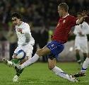 图文:塞尔维亚1-1葡萄牙 这一脚够狠的
