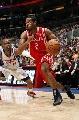 图文:[NBA]火箭VS快船  海德突破对手