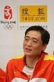 图文:王磊和女子重剑队做客 教练赵刚亲切答问