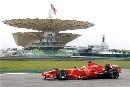 图文:[F1]马来西亚雪邦试车 马萨抓紧测试
