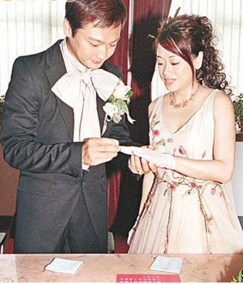 陶大宇与阿宝的十七年感情,随着一纸离婚书而结束