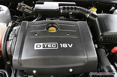 2.0L的D-TEC发动机