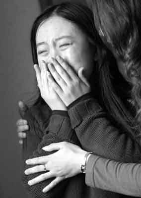 """杨丽娟告诉记者:""""我爸爸经常给我唱刘德华的歌。"""""""