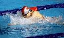 图文:中国选手罗男获女子200米蛙泳第五名