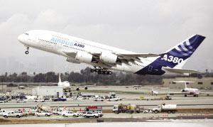 空客A380客机