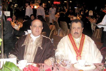 突尼斯共和国驻华大使穆罕默德·萨赫比·巴斯里博士以及远道而来的嘉宾。