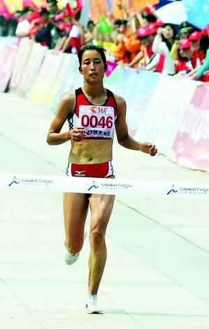 女子全程冠军朱晓琳