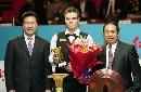 图文:斯诺克中国赛决赛 柯普赢得单杆奖