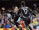 图文:塞尔塔1-2皇马 范尼点球首开记录