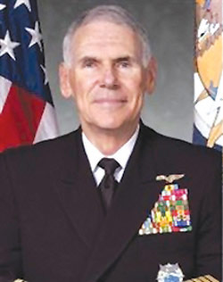 资料图片:负责美军中东地区事务的美国中央司令部司令威廉·法伦