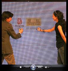 视频:章子怡借搜狐与网友更全面接触 要全力更新官网