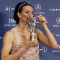 图文:2007劳伦斯奖 伊辛巴耶娃成最佳女运动员