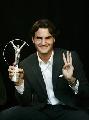 图文:2007劳伦斯奖颁奖 费德勒连续第3次获奖