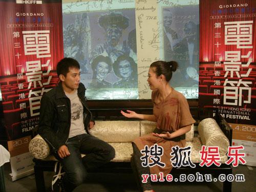 刘烨接受专访