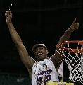 图文:2007NCAA总决赛  赫福特振臂高呼