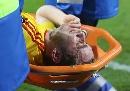 图文:埃因霍温VS利物浦 左路尖刀重伤下场