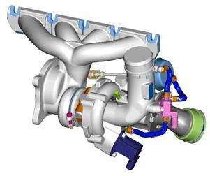 在高负载工况下,燃油控制阀会在高压泵的吸油过程结束后进行压缩过程图片