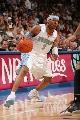 图文:[NBA]掘金胜国王  艾弗森寻求突破