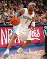 图文:[NBA]掘金胜国王 艾弗森突破如风